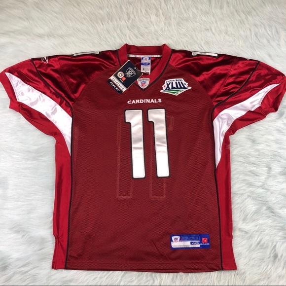 ab98ef45618 Reebok Shirts | Larry Fitzgerald Arizona Cardinals Nfl Jersey Nwt ...